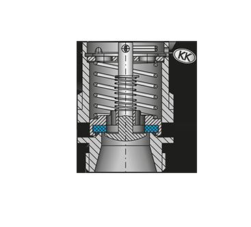 Pressure compensation valve 6132