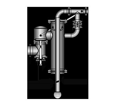 Tankdomarmatur TDAC