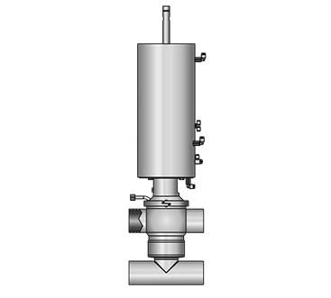 GEMBRA Aseptic double-seat valve 5824 SS-SS