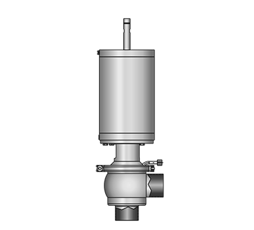 GEMBRA Aseptic angle valve 5836 S-S