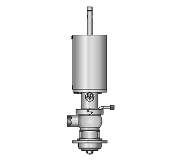 GEMBRA Aseptic tank outlet double-seat valve 5859 S
