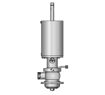 GEMBRA Aseptik-Tankauslaufventil 5850 S