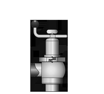 KI-DS Angle valve 5505 S-S