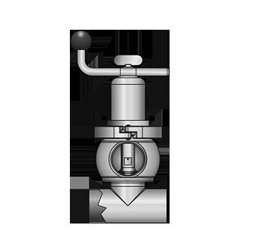 KI-DS Loop valve 5517 S-SS