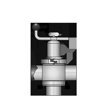 KI-DS T-valve 5507 SS-S