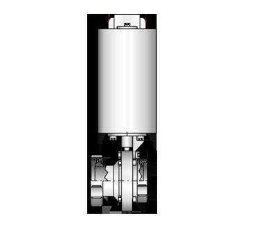 Scheibenventil 4404 K/M-G