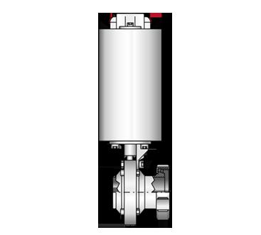 Scheibenventil  4405 K/M-S