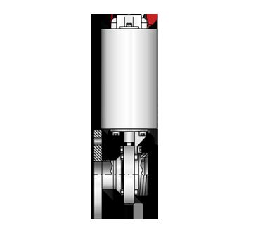 Scheibenventil  4307 PN10-G