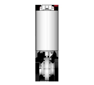 Scheibenventil  4446 Cl-Cl