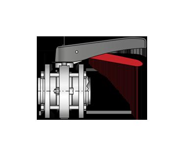 Zwischenflansch-Scheibenventil 4310 S-S